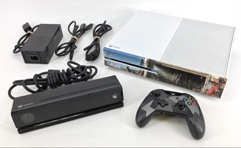 Microsoft Xbox One 500GB w/Kinect, White - Model# 1540