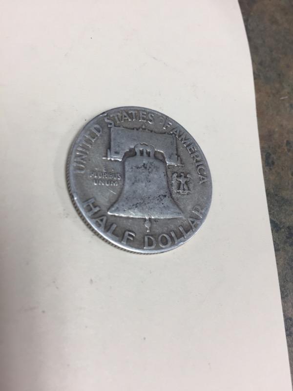 UNITED STATES Silver Coin FRANKLIN HALF DOLLAR (1948 - 1963)