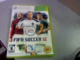 MICROSOFT Microsoft XBOX 360 Game FIFA SOCCER 12