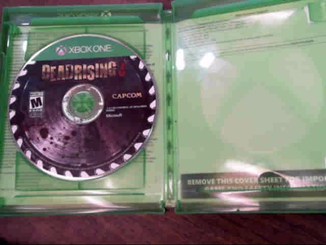 MICROSOFT Microsoft XBOX One Game DEADRISING 3 - XBOX ONE