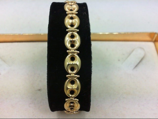 Gold Bracelet 14K Yellow Gold 10.7g