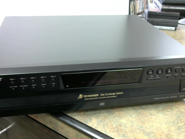 SONY CD Player & Recorder CDP-CE375