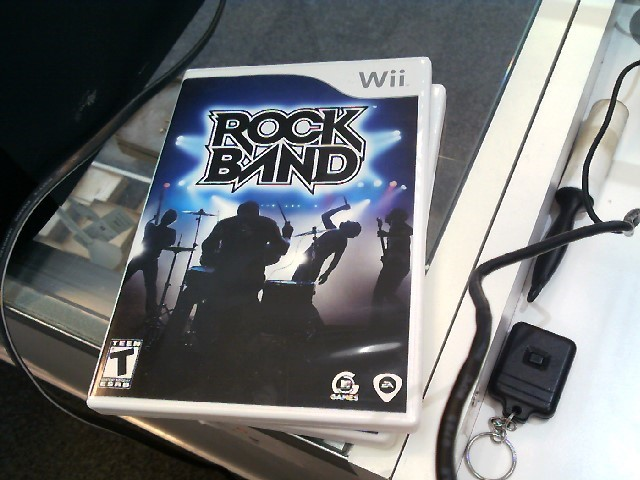 NINTENDO Nintendo Wii Game ROCK BAND