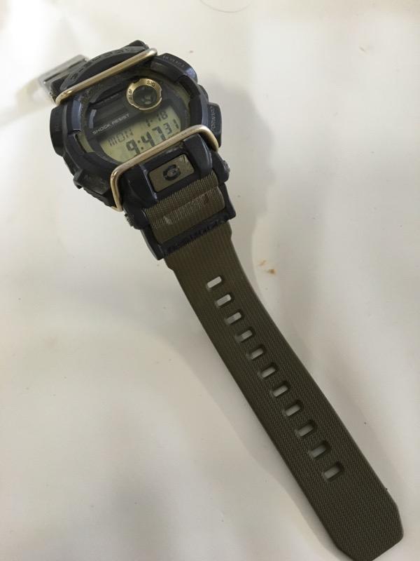 CASIO Gent's Wristwatch GD-400