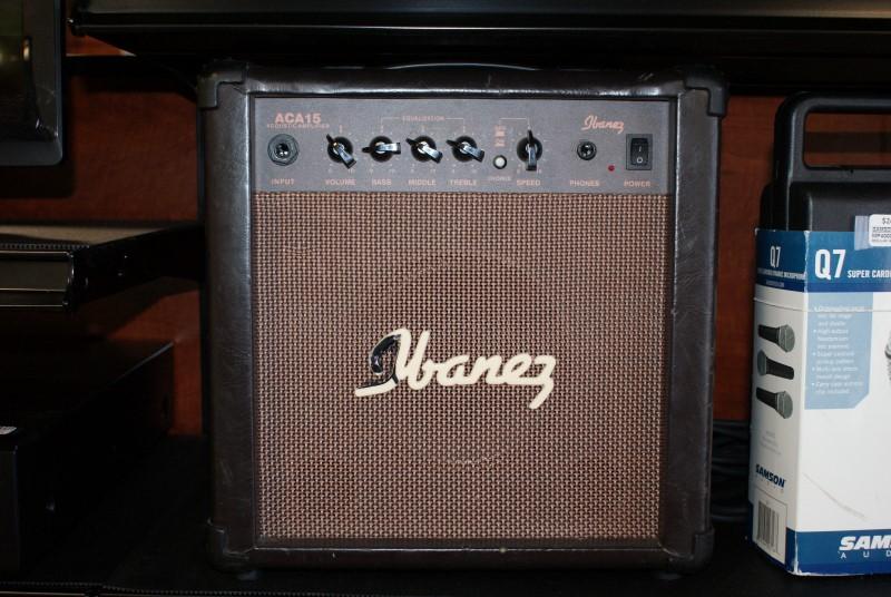 IBANEZ Acoustic Guitar Amp ACA15 ACOUSTIC GUITAR AMP