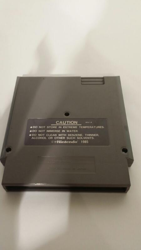 Original Nintendo NES Tecmo Bowl Cartridge & Free Shipping [