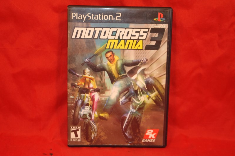 Motocross Mania 3 - Sony PlayStation 2 - Complete