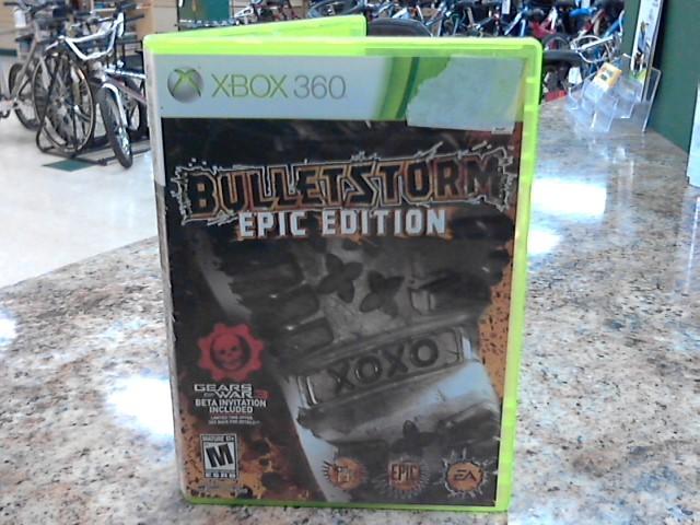 MICROSOFT Microsoft XBOX 360 Game BULLETSTORM EPIC EDITION