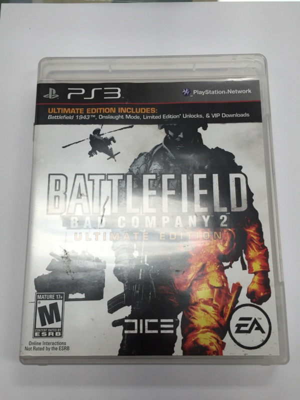SONY PlayStation 3 BATTLEFIELD BAD COMPANY 2 ULTIMATE EDITION