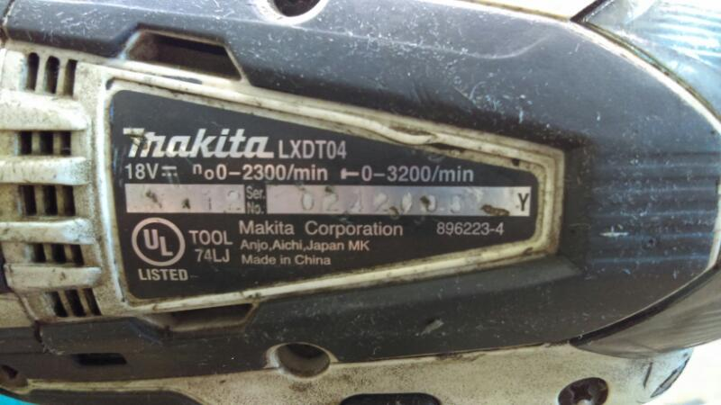 MAKITA LXDT04/LXFD01 COMBO SET
