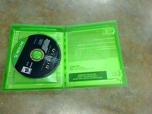 MICROSOFT Microsoft XBOX One Game DIABLO REAPER OF SOULS XBOX ONE