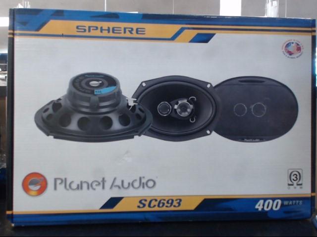 PLANET AUDIO Car Audio SC693