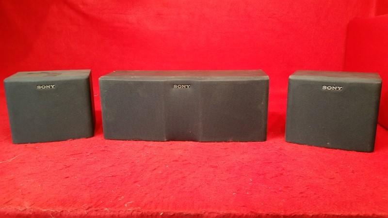 Sony Surround Speakers - 3 Speaker Set
