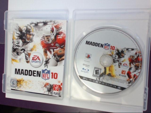 MADDEN NFL 10 - PS3