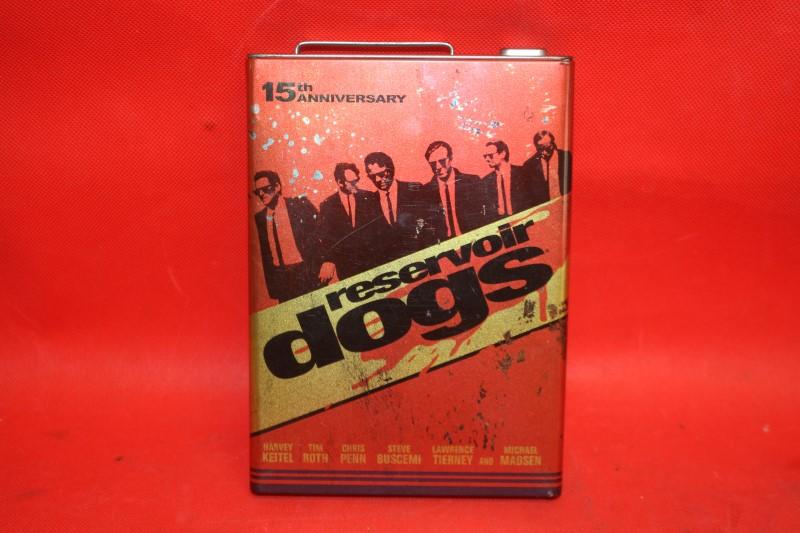 Reservoir Dogs (DVD, 2006, 15th Anniversary) *GAS CAN* MATCHBOOK CASE
