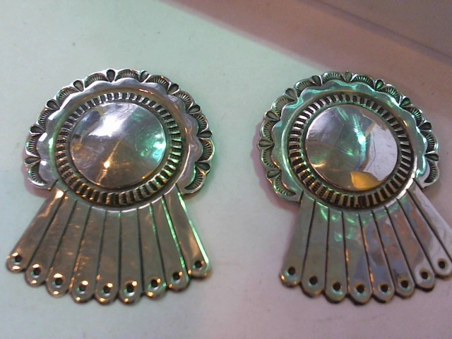 Silver Earrings 925 Silver 24.5g
