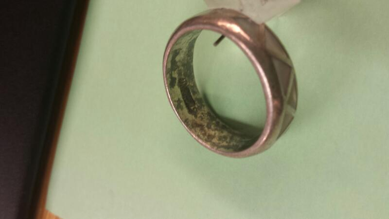 Lady's Silver Ring 925 Silver 4.76dwt