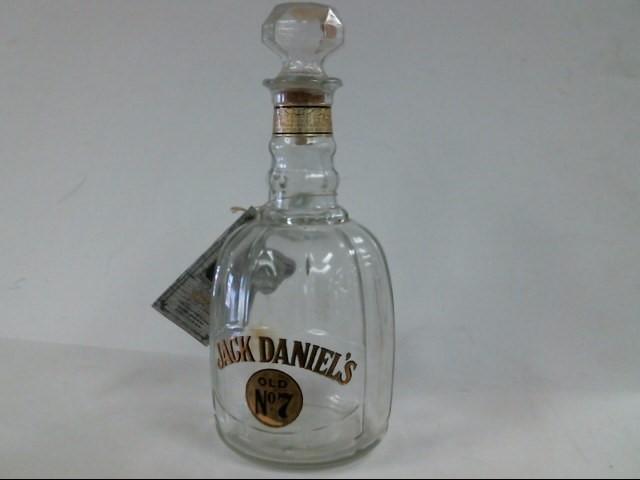 JACK DANIELS Glass/Pottery BOTTLE