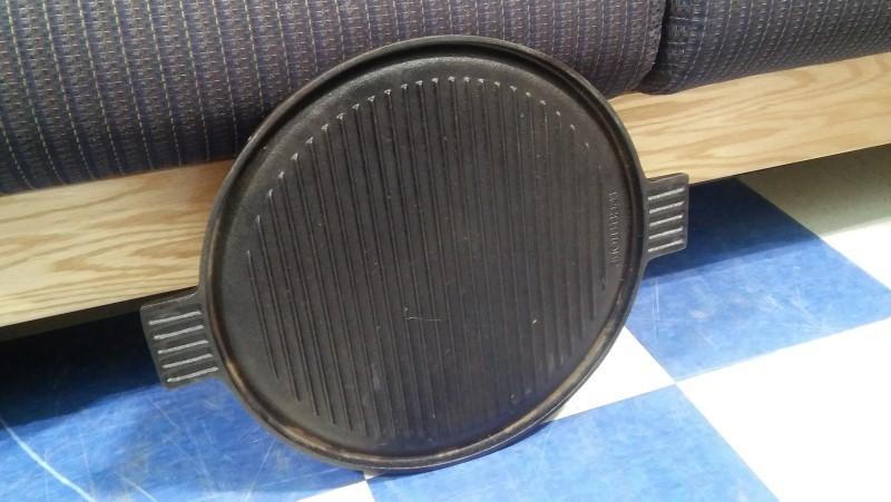 TECHNIQUE CAST IRON Miscellaneous Appliances GRIDDLE CASE IRON