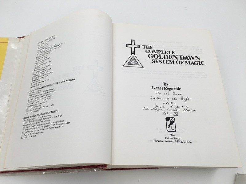 THE COMPLETE GOLDEN DAWN SYSTEM OF MAGIC BY ISRAEL REGARDIE BOOK