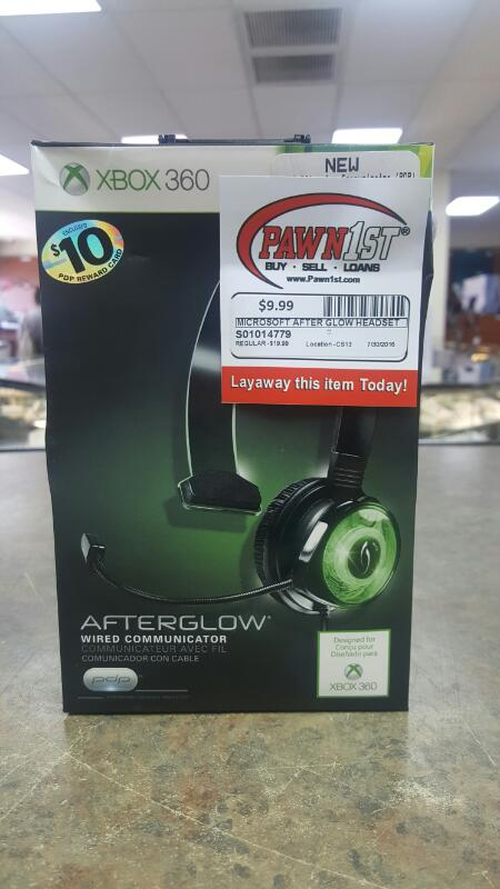 MICROSOFT Video Game Accessory XBOX 360 AFTERGLOW
