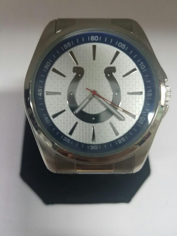 GAMETIME COLTS GOLD/SILVER WATCH PLATED   MNS WATCH
