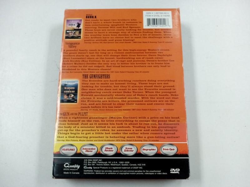 DVD BOX SET WESTERN CLASSICS 4 MOVIES