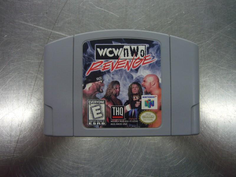 NINTENDO 64 Game WCW/NWO REVENGE *CARTRIDGE ONLY*