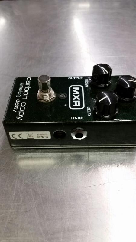 MXR Effect Equipment CARBON COPY ANALOG DELAY