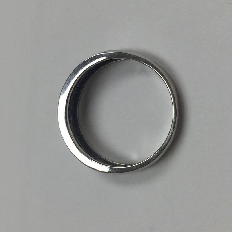 Synthetic Sapphire Gent's Stone & Diamond Ring 50 Diamonds .50 Carat T.W.