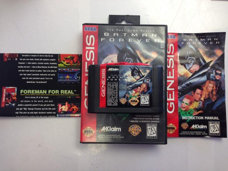 Batman Forever (Genesis, 1995) Complete