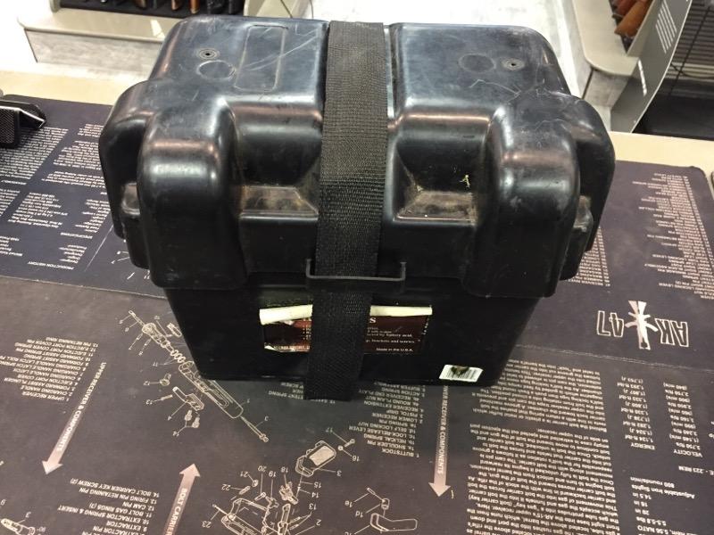ALUMA SPORT Tool Box M300 HEAVY DUTY BATTERY BOX
