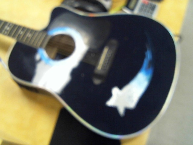 ESTEBAN MUSIC Electric-Acoustic Guitar CRYSTAL STAR AC/ELEC GUITAR