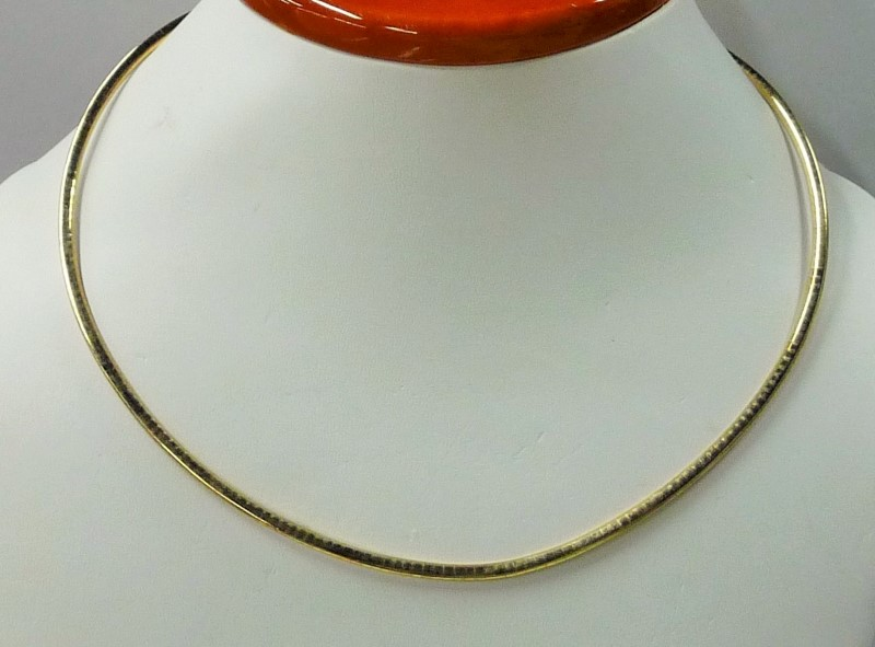 """17"""" Gold Chain 14K Yellow Gold 9.16dwt"""