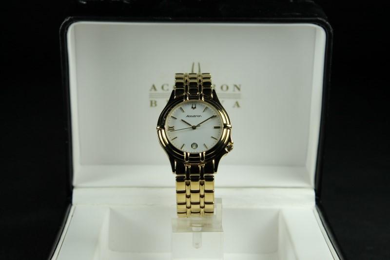 Bulova Accutron T4 Gold Plated Wristwatch