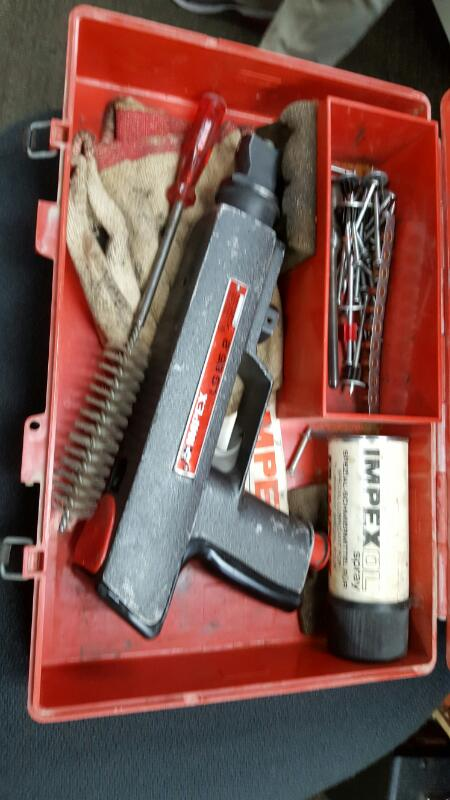 IMPEX Cement Hand Tool LG65.2