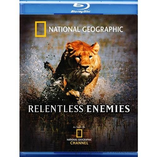 BLU-RAY MOVIE Blu-Ray NATIONAL GEOGRAPHIC RELENTLESS ENEMIES