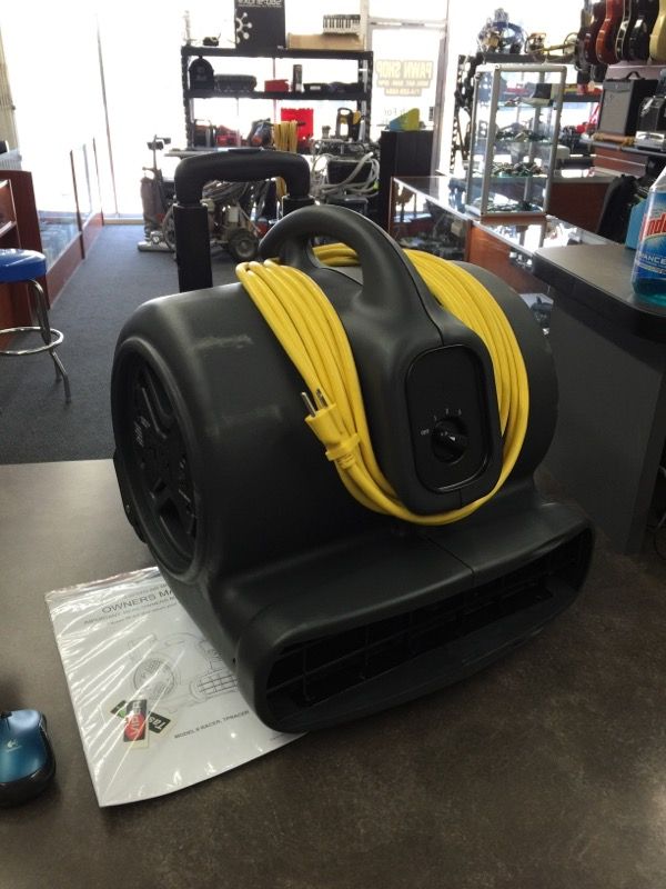 Viper Racer 3-Speed Transportable Air Mover