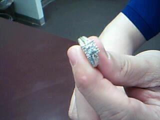 Lady's Diamond Engagement Ring 28 Diamonds .40 Carat T.W. 10K Yellow Gold 3.4g