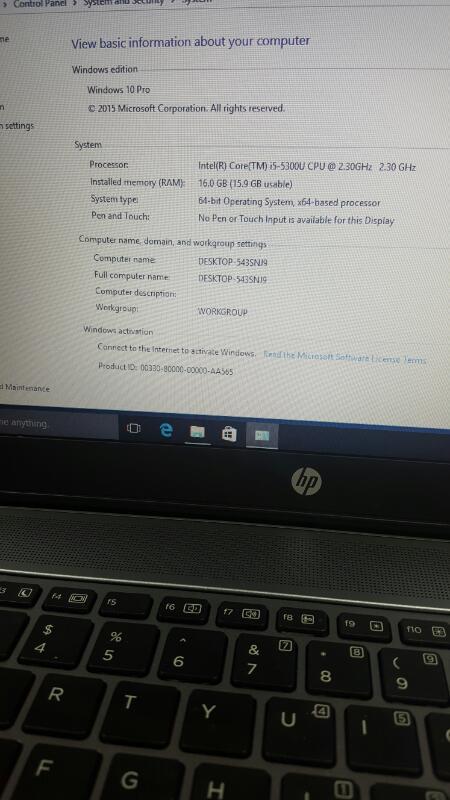 HEWLETT PACKARD Laptop/Netbook ELITEBOOK 840