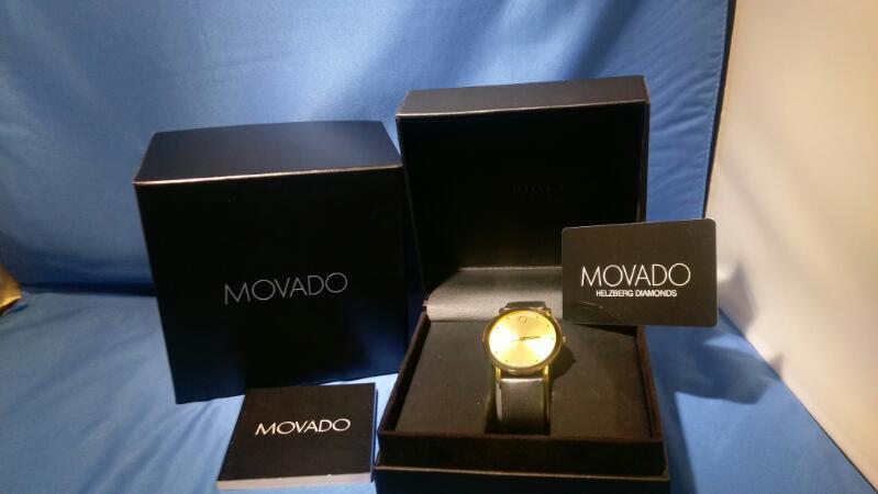 MOVADO GENT'S WRISTWATCH MODEL # 0606883