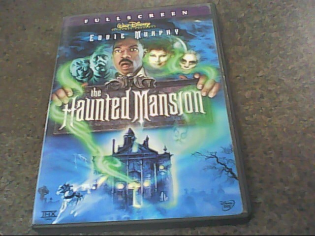 DVD MOVIE DVD DISNEY THE HAUNTED MANSION