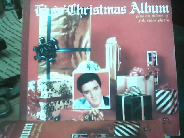RCA Entertainment Memorabilia ELVIS CHRISTMAS ALBUM