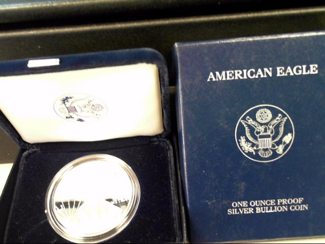 UNITED STATES Proof Set 2001 SILVER EAGLE PROOF