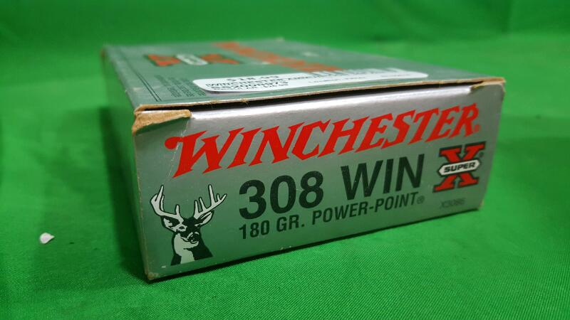 Winchester Super-X® 308 Caliber 180-Grain Power-Point® Ammunition