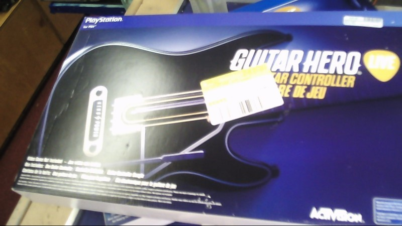 SONY GUITAR HERO GUITAR- PS4 BLACK BY ACTIVISION