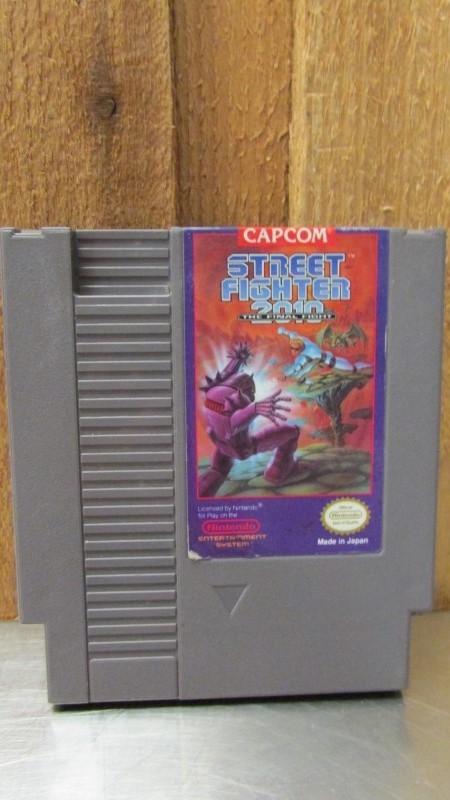 NINTENDO Nintendo NES Game STREET FIGHTER 2010 THE FINAL FIGHT NES