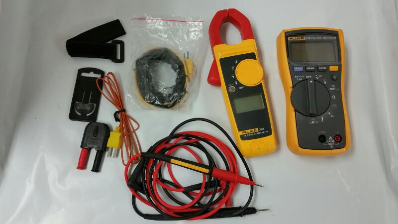 FLUKE 116/322 COMBO MULTIMETER CLAMP METER