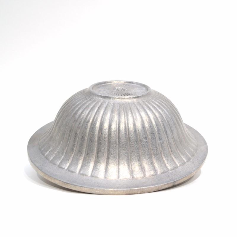 Wilton Armetale Flutes and Pearls Medium Bowl -Food Safe Metal- #