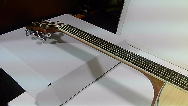 Preowned Dean Exotica FM FN Electric Acoustic Guitar